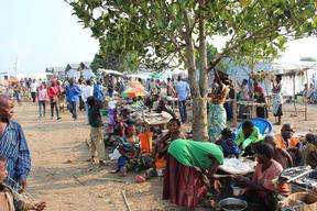 Emergency intervention in the Transit camp of Bubukwanga
