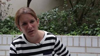 Natalie Roberts, emergency co', talks of access to healthcare in north Yemen 1 (ARABIC)