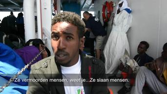 MSF SEARCH AND RESCUE _ TESTIMONY OSMAN ERITREA Eng - Dutch Version