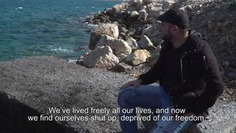 WEBCLIP. Stories from Samos. 27-year ols Omar from Iraq (ENG)