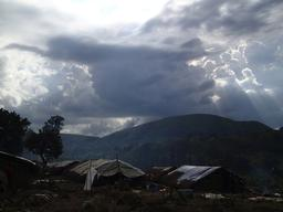 DRC - Displacement of population in Geti area, Ituri