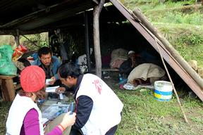 Mobile clinic in Sindhupalchowk and Pasuwa Districts