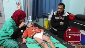 WALK & TALK: MSF outpatient clinic in Gaza City (ENG)