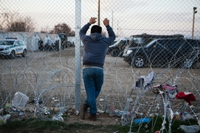 Idomeni after the closing of the border