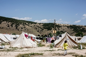 Katsikas refugees camp