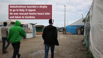 WEBCLIP: Abdullurahman, minor from Sudan, in Calais Jungle (ENG)