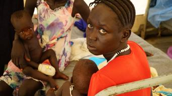 Ethiopia, Lietchuor, South Sudanese refugees in Ethiopia's Gambella region, malnutrition, SImon Rolin / MSF, 26 july 2014.