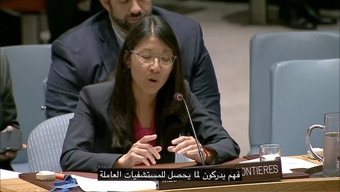 Dr Joanne Liu at UNSC meeting - Arabic Subtitles