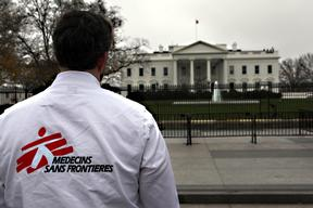 MSF Delivers Petition Calling For Investigation Into Kunduz Hospital Attack
