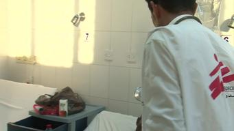 B-roll : MSF hospital in Aden, Yemen 27 May 2015