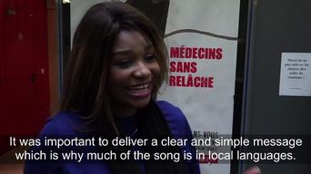 Africa Stop Ebola: short soundbites with artists