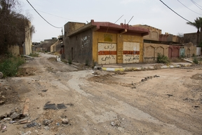 Jalawla town, northeast Iraq