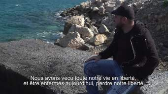 WEBCLIP. Stories from Samos. 27-year ols Omar from Iraq (FR)