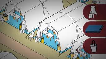 Cholera – How to set up a Cholera Treatment Centre (without subtitles) (ENG)