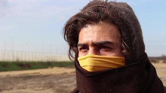 WEBCLIP Nidal, imprisoned and tortured by IS (INT)