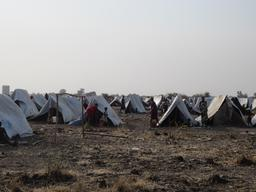Lietchuor permanent camp South Sudanese in Gambella region.