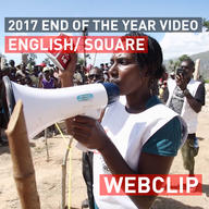 Thank you - End of the year 2017 | Web Clip | English Square