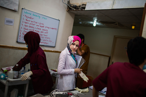 Post Operative Care in South Mosul, Iraq