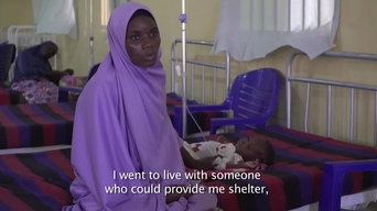 WEBCLIP: Hussaina's daughter is in an MSF ITFC in Maiduguri (ENG)