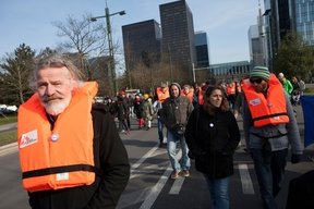 'Safe Passage' March in Brussels