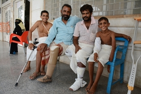 Story from Aden: Mocktar, landmine victim