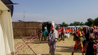 Nigeria, distribution in Muna Garage camp