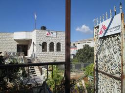 MSF office building in Nablus