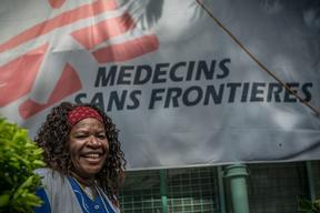 MSF Community worker in Port Moresby