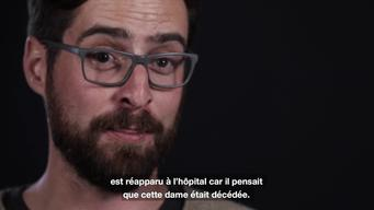 Testimony of Xavier Guillemin, MSF Psychologist coming back from Iraq | Webclip | French