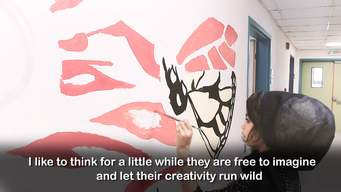 Art Project at the Hospital | Webclip | English