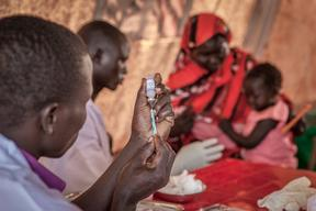PCV Vaccination Campaign in Yida Camp