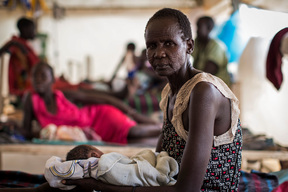 MSF hospital, Bentiu, Rubkona, South Sudan