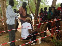 Vaccination Campaign against Cholera Gambella Ethiopia