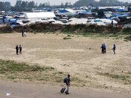 First day of Calais Dismantlement