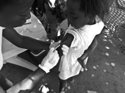 DRC - Measles Vaccination in Manono