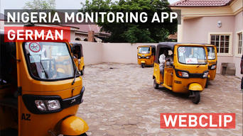 Borno State, Nigeria: Monitoring malnutrition on a mobile phone | Webclip | German