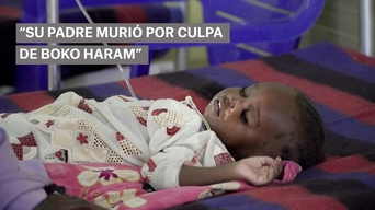 WEBCLIP: Hussaina's daughter is in an MSF ITFC in Maiduguri (ES)