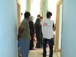 MSF clinic for IDPs in Baharka Camp, Iraq Kurdistan