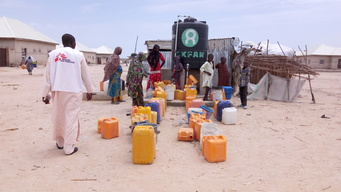 Disastrous living conditions in camps in Maiduguri