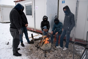 Winter Living Conditions in Northern Greece