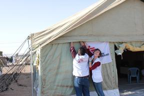 Kawargosk camp + camp in Erbil area.hosting Syrian refugees