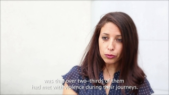Inter-cutting interviews: Malika Bouhenia, epidemiologist - Epicentre report on Calais (ENG)