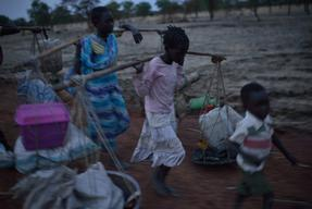 Refugees in Upper Nile State South Sudan