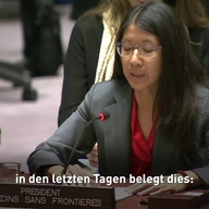 Web Clip - Joanne Liu UN Security Council address - DE