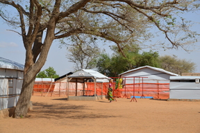 Magaria and Dungass therapeutic feeding centres