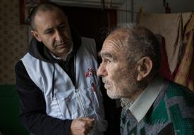 MSF Home Visits in Debaltseve