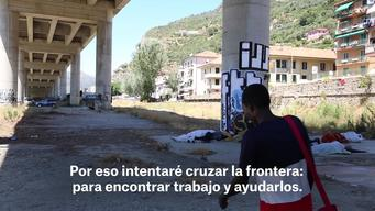 WEBCLIP. Migrant stories French-Italian border - Gabreel (SPA)