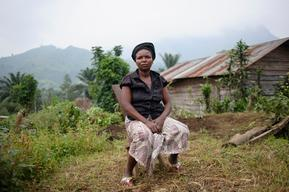 The Displaced of Masisi, DRC - Portrait series