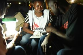 MSF Counselors in Mozambique