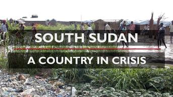 Web Clip: Bentiu South Sudan - Floods inside the UN Internally Displaced People's camp